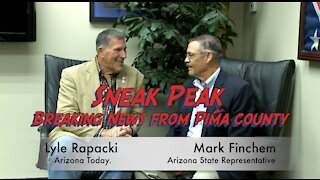 Sneak Peak of our Interview with Lyle Rapacki and Rep. Mark Finchem