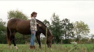 'I got my life back': How this cancer survivor used horse therapy to come out of darkness