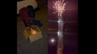 Fireworks Last A Minute