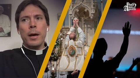 Traditional Catholics vs. Charismatic Catholics w/ Fr. Mark Goring