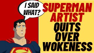 SUPERMAN Artist Quits Over Woke At DC - Oh, And Superman Is Bi