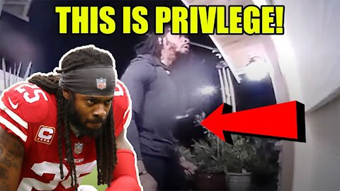 Richard Sherman video is DISTURBING but proves the narrative about Police hunting Blacks is FALSE!
