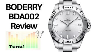 More than just the incredible automatic movement! - Boderry BDA002