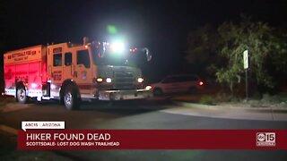 Hiker found dead on Lost Dog Wash Trailhead in Scottsdale