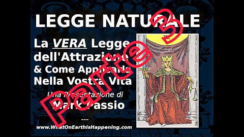 La Legge Naturale - Parte 3 di 3 (Mark Passio, ITA)