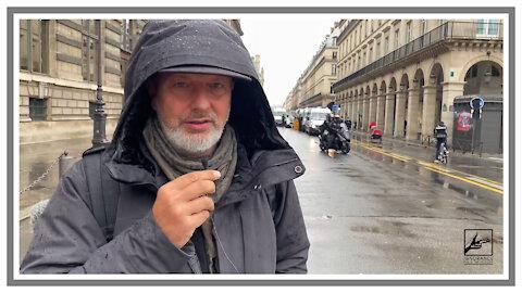 Gelbwesten Demo Paris! Extrem starke Polizei Präsenz.