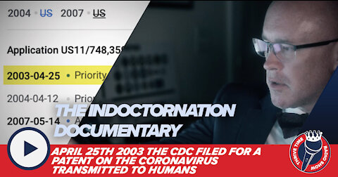 BREAKING!!! April 25th 2003 the CDC Filed for a Patent on the Coronavirus Transmitted to Humans