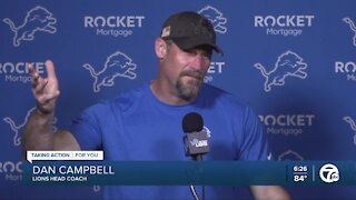 Campbell: 'pajama warriors' stand out before pads go on at camp