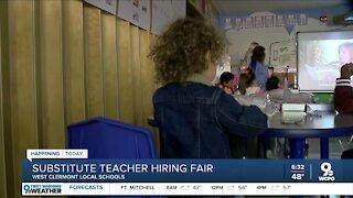 Schools desperately seeking substitute teachers