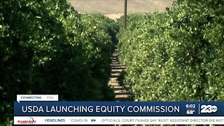 USDA launching equity commission