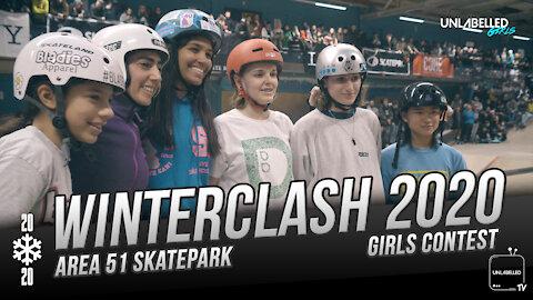 Girls Aggressive Inline Skating Contest at Winterclash 2020