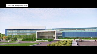 Construction on Sherwin-Williams' Brecksville facility means increased activity at nearby businesses