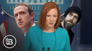 Psaki Makes STUNNING Admission: WH Actively Working With Big Tech Censors