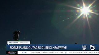 Planned outages scheduled in San Diego during hot temperatures