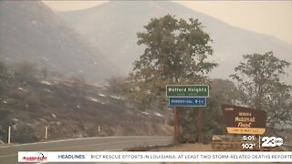 Wofford Heights residents return home as some evacuation orders lifted