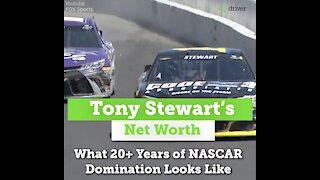 Tony Stewart's Net Worth: What 20+ Years of NASCAR Domination Looks Like