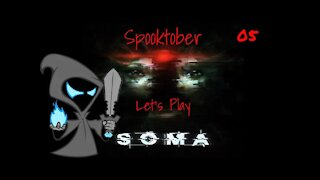 Soma Lets play episode 5 The battleship of death and robot murder!