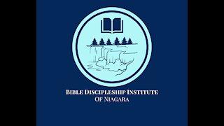 Bible Discipleship Institute of Niagara - James and 1 Peter