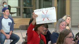 Franklin families ask school board to drop mask mandate