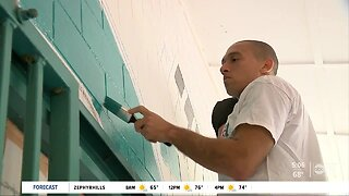 Paint the town: Volunteers cleaning up community in university area