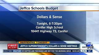 JeffCo Schools inviting public to talk about budget