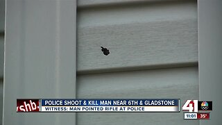 KCPD officers shoot, kill man armed with rifle