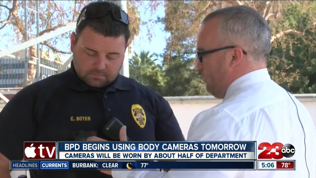 BPD officers begin wearing body cameras