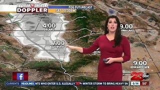 Dense Fog Advisory for the San Joaquin Valley