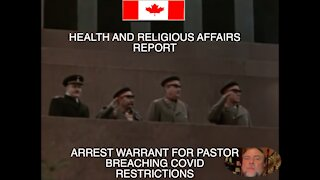 Arrest warrant issued against a Pastor for alleged breach of Covid restrictions