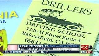 Parents want refunds after Drillers Driving School closed