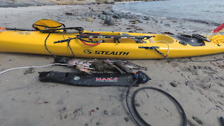 Spearfishing in Carmel with my new Stealth Fusion 480