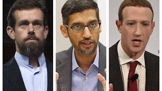 Big Tech CEOs Face Scrutiny In Senate Hearing