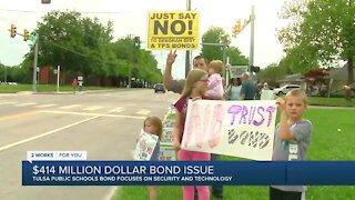 Group protests upcoming Tulsa Public Schools bond proposal