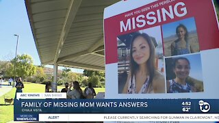 Family of missing Chula Vista mom wants answers