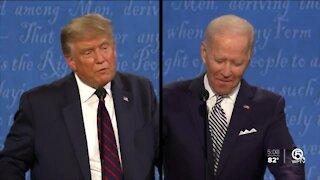 Biden says no debate if Trump still has virus