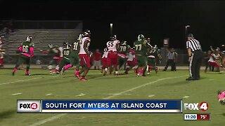 South Fort Myers Wolfpack vs, Island Coast Gators