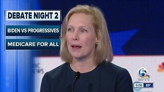 Night two of Democratic debate