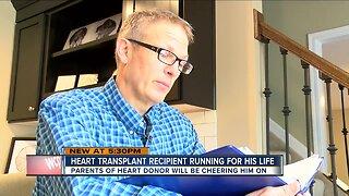 Cincinnati heart transplant recipient running for his life at Flying Pig