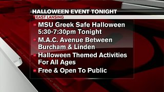 Family-safe Halloween party with the MSU Greeks
