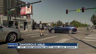 Contact7 gets results after parents report dangerous street crossing on W. Colfax Avenue
