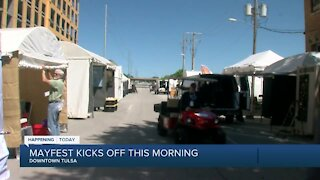 Mayfest kicks off Friday morning, featuring local vendors, musicians and art