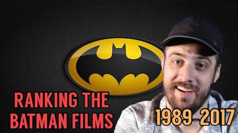 Ranking the Batman Films