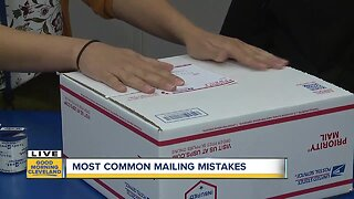 Most common mailing mistakes this Christmas