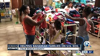 Relief center helping Bahamian evacuees with supplies