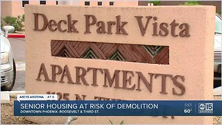 Phoenix senior housing complex at risk of demolition