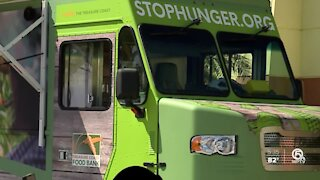New Treasure Coast Food Bank program brings food to low income communities