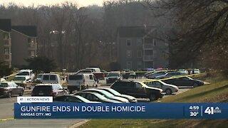 2 found dead outside south Kansas City apartment