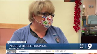 Inside a Bisbee Hospital: Vaccines begin to roll out
