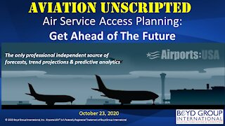 Air Service Access Planning: Getting Ahead of the Future