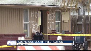 Ontario Police investigating suspicious death